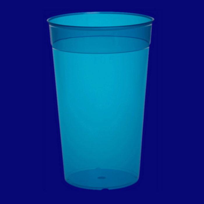 Vratný kelímek l PP barevný modrý