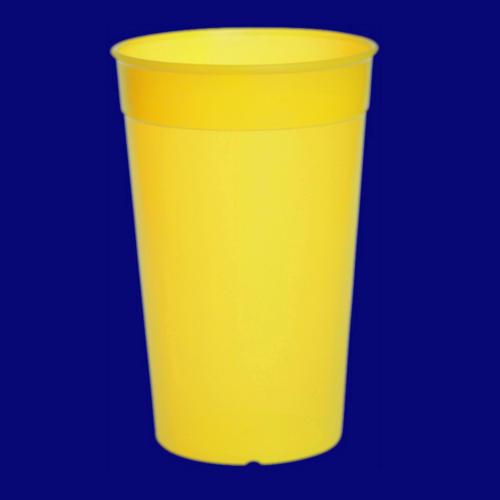 Vratný kelímek 0,5l PP barevný žlutý