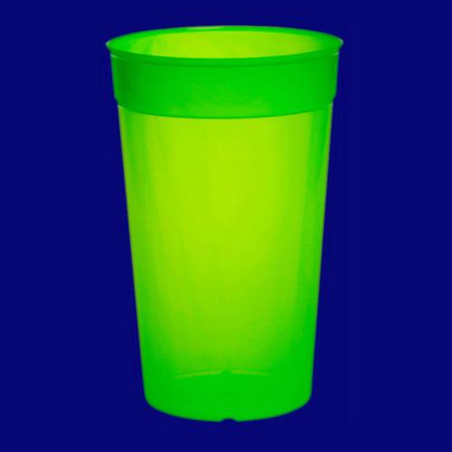 Vratný kelímek 0,5l PP barevný zelený